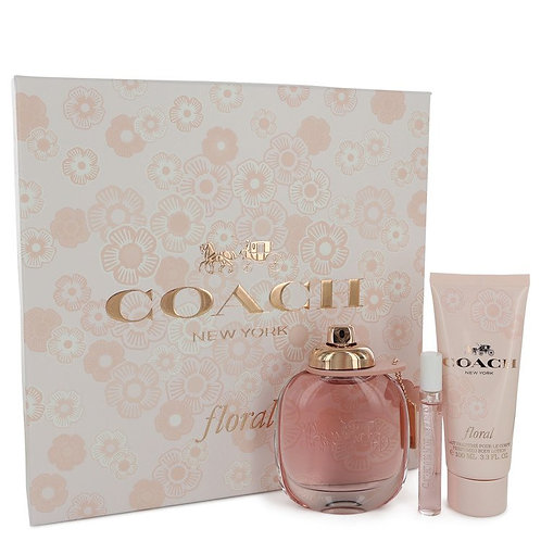 Coach Floral By Coach (Includes Mini Spray & Body Lotion)