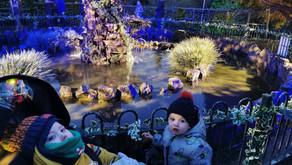 Oshi's World visit the Enchanted Gardens