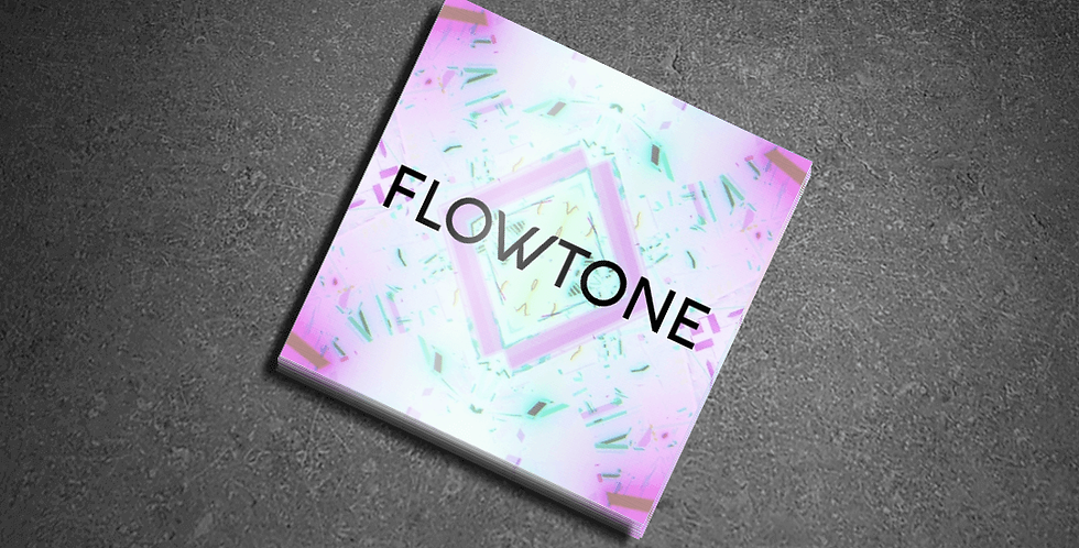 Pack of 3 - Flowtone Holographic Stickers