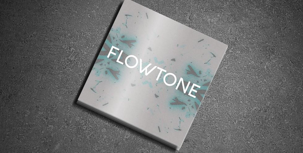 Flowtone Sticker - Brushed Aluminum