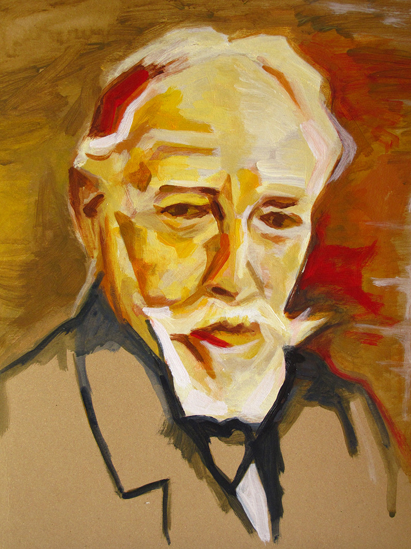Portret James Ensor