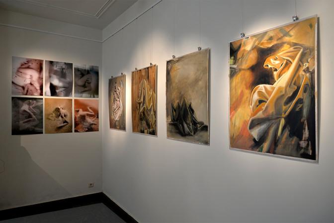 STUDIO VISIT BY CURATOR BENEDICT VANDAELE