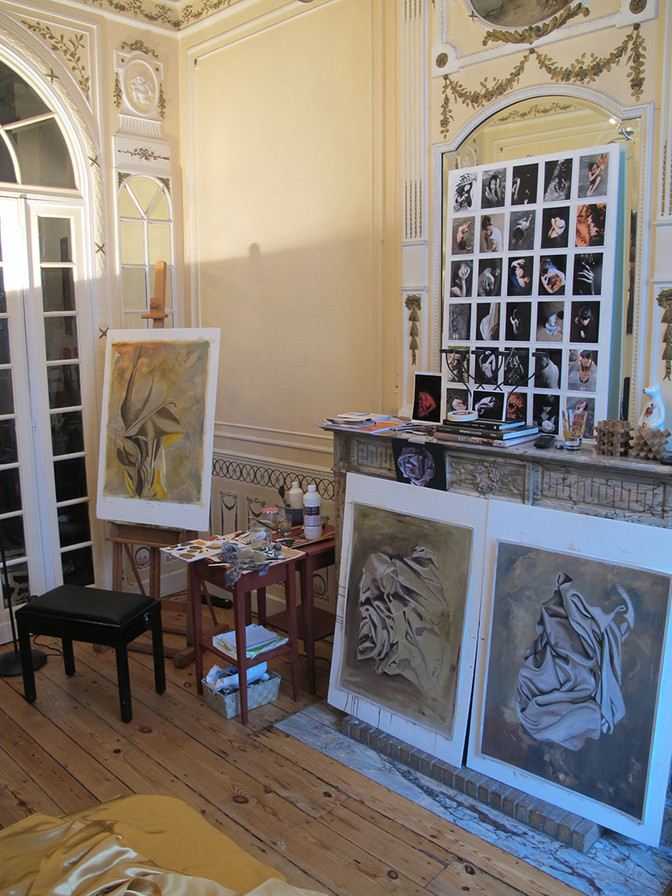 A PEEK INTO MY STUDIO IN BRUSSELS