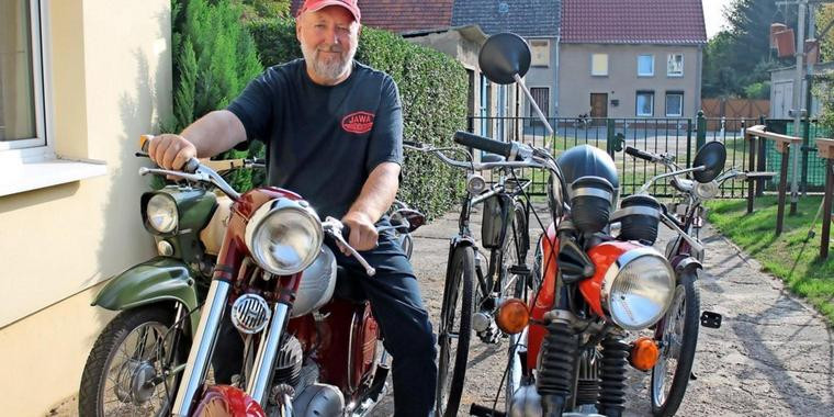 DDR Oldtimer Jawa Simson