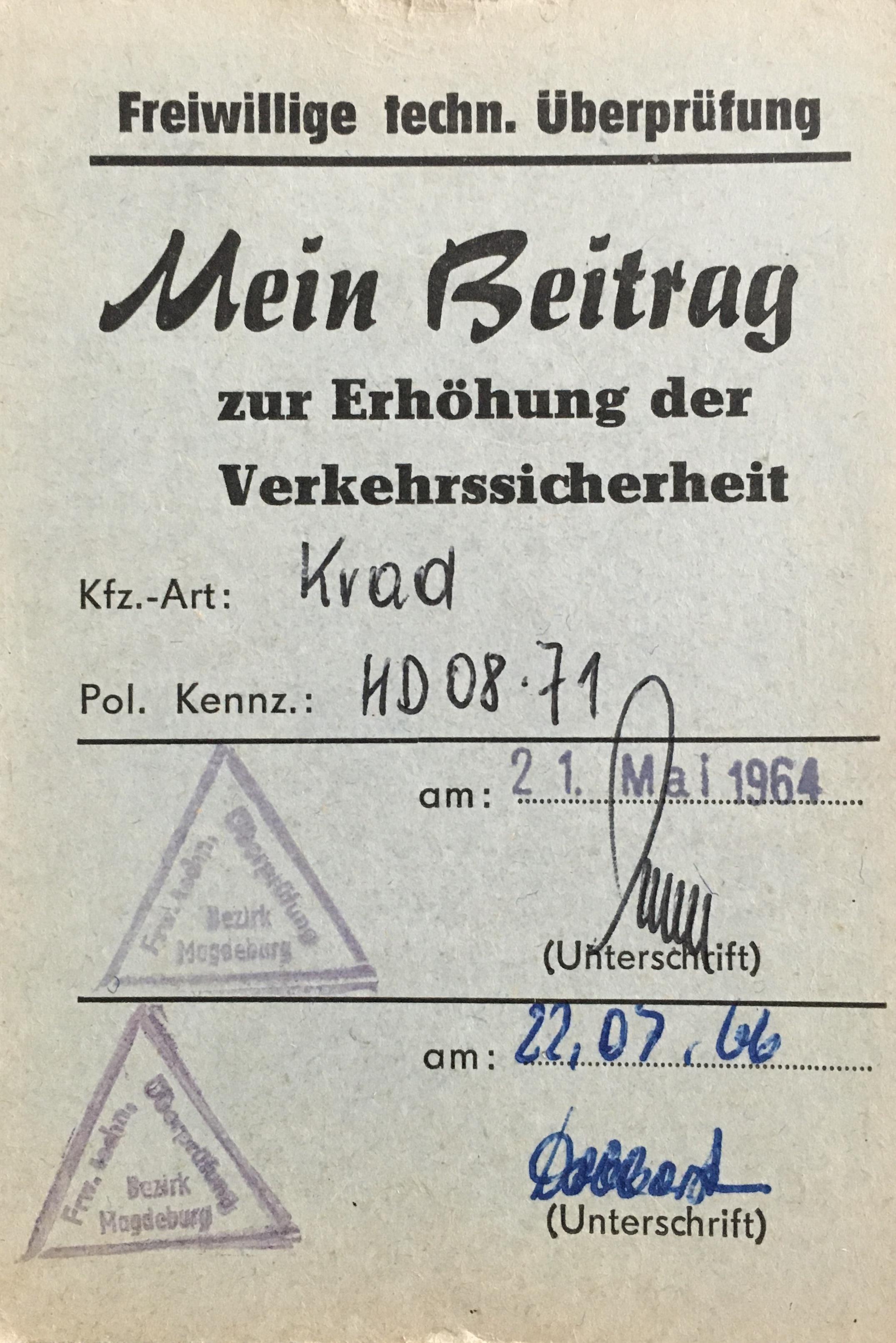 DDR Verkehr Simson