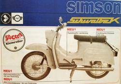 Simson Schwalbe Werbung