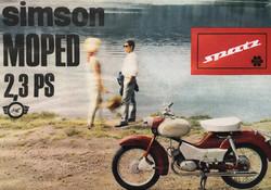 Simson Spatz Werbung