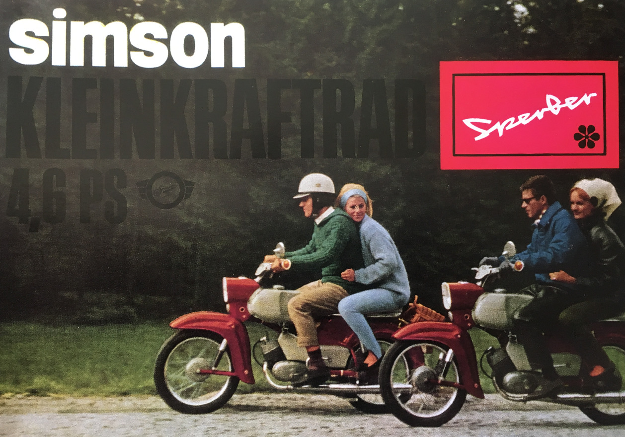 Simson Sperber Werbung