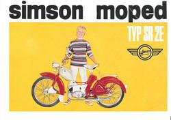 Simson SR2 Werbung