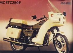 MZ ETZ 250F