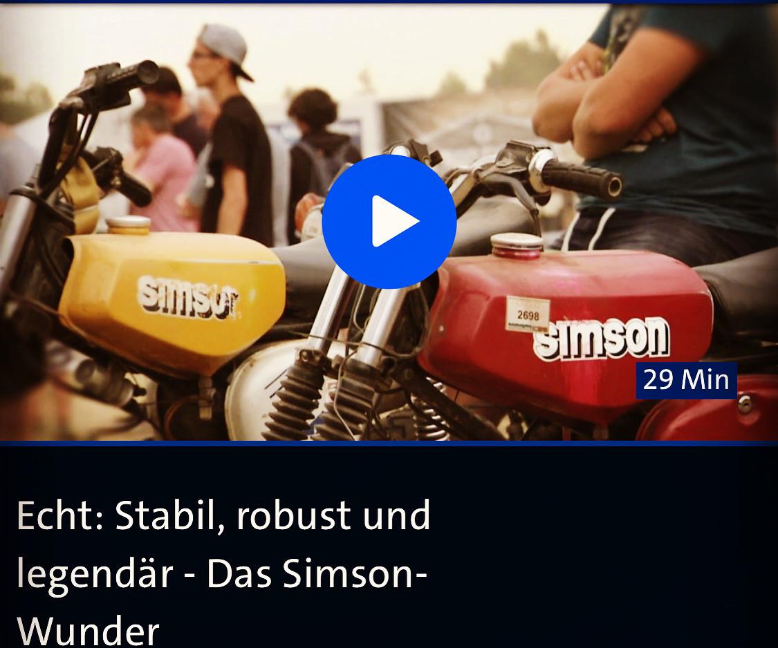 MDR Dokumentation Simson