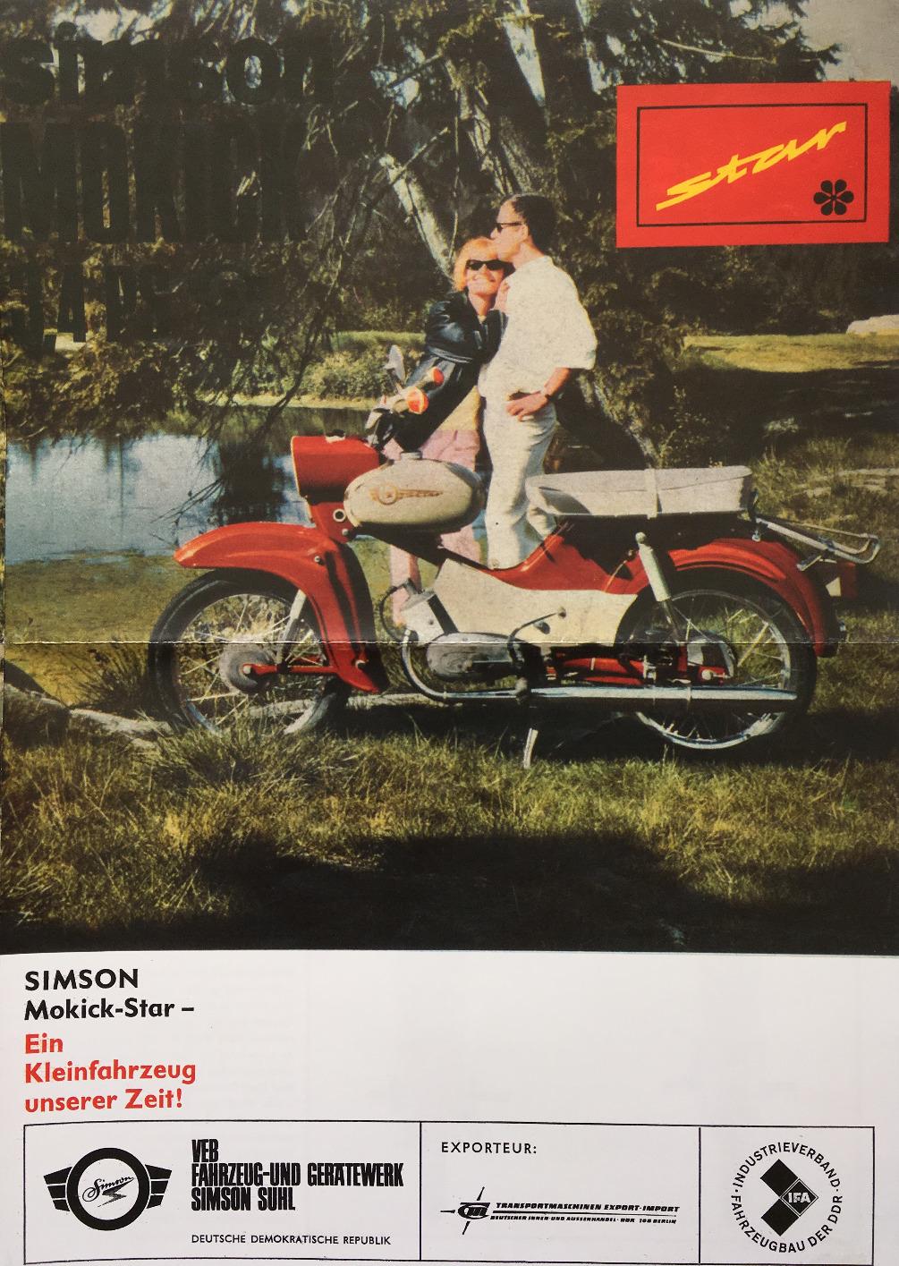 Simson Star Werbung