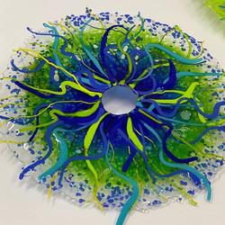 green-blue disc
