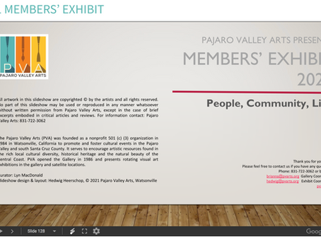 PVAC Virtual Member's Show 2021