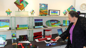 Luckydog Arts and Design's Open Studio's 2012 was a success!