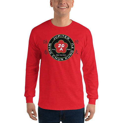 Jupiter Wing Chun Long Sleeve Red Shirt