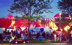Chagrin Falls Balloon Glow