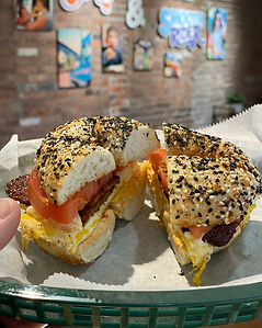 Cleveland Bagel Breakfast Sandwich