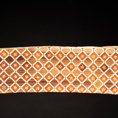 Les planches aux motifs géométriques