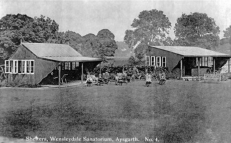 Shelters at WensleydaleSanatorium, Aysgarth