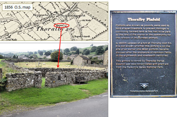 Thoralby Pinfold 1483-4
