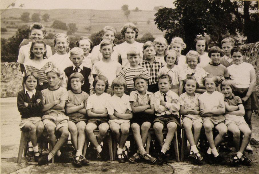 Cross Lanes pupils, 1961