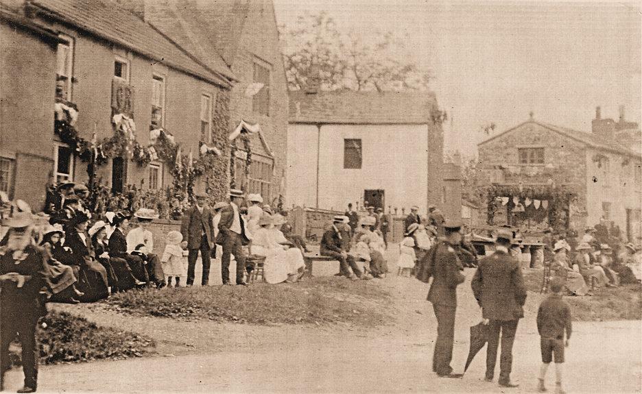 Coronation of George V Celebrations at Aysgarth in 1911