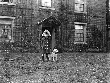 Rankin Waddell at Kidstones, Bishopdale 1908, aged four, courtesy of DCM, Hawes.