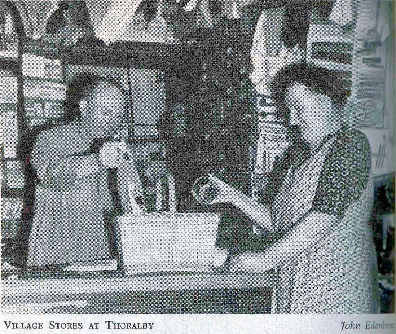 Thoralby Village Stores, 1953