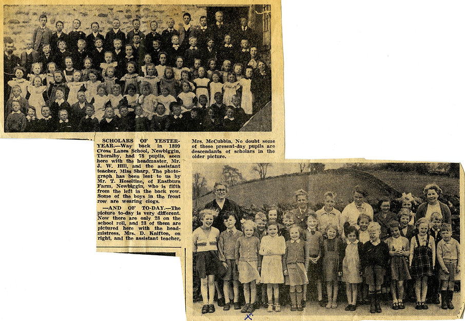 'Scholars of Yester-Year' 1899 and 1957
