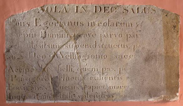 Inscription from Littleburn Bridge in Vi