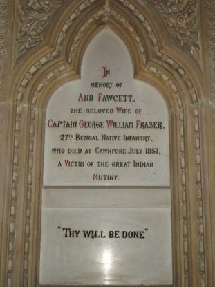 Memorial Ann Fawcett Fraser - India - Ha