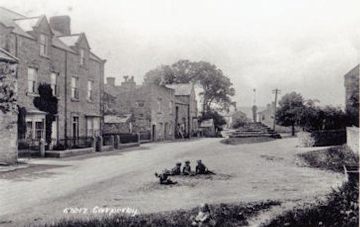 Children playing, Carperby village