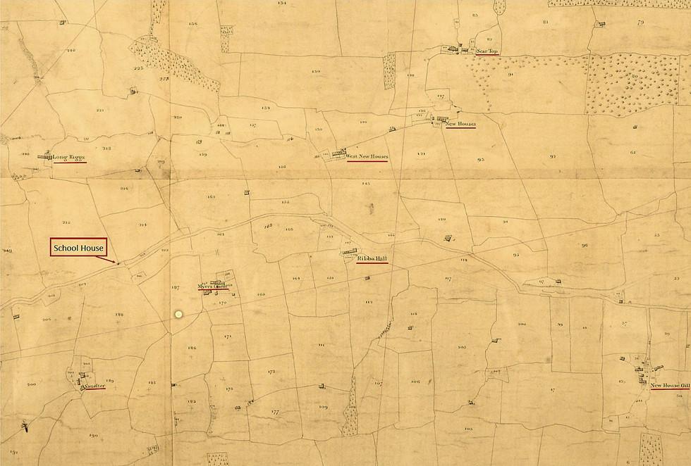Bishopdale Tithe, Newhouse Gill-LongRidge