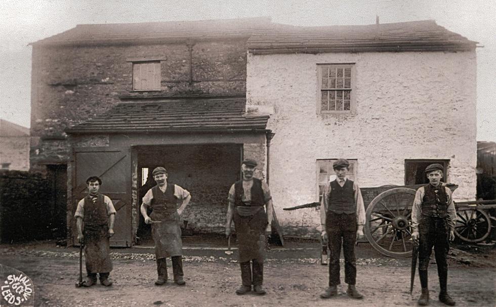 Blacksmith's Forge 1912-14 PC GVS