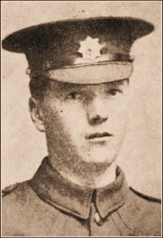 Private, Matthias Dixon of Walden, c.of The Craven Herald