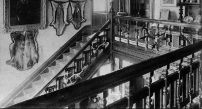 The grand newel staircase, courtesy of Graham Bell.