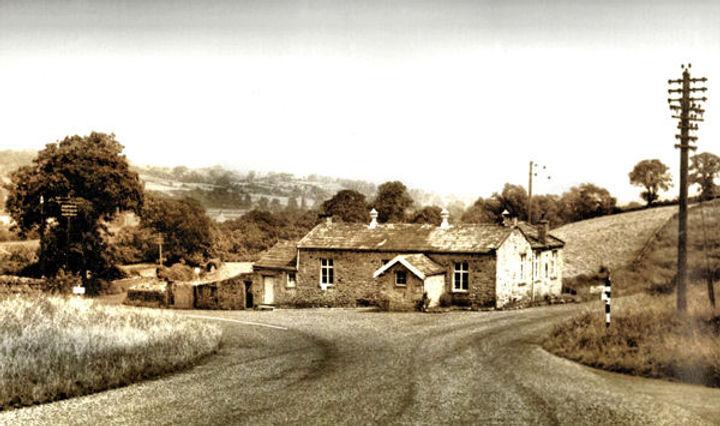 Cross Lanes School, Newbiggin 1955