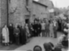 Thoralby Village Hall opening day celebrations, Wednesday 17 Oct., 1953