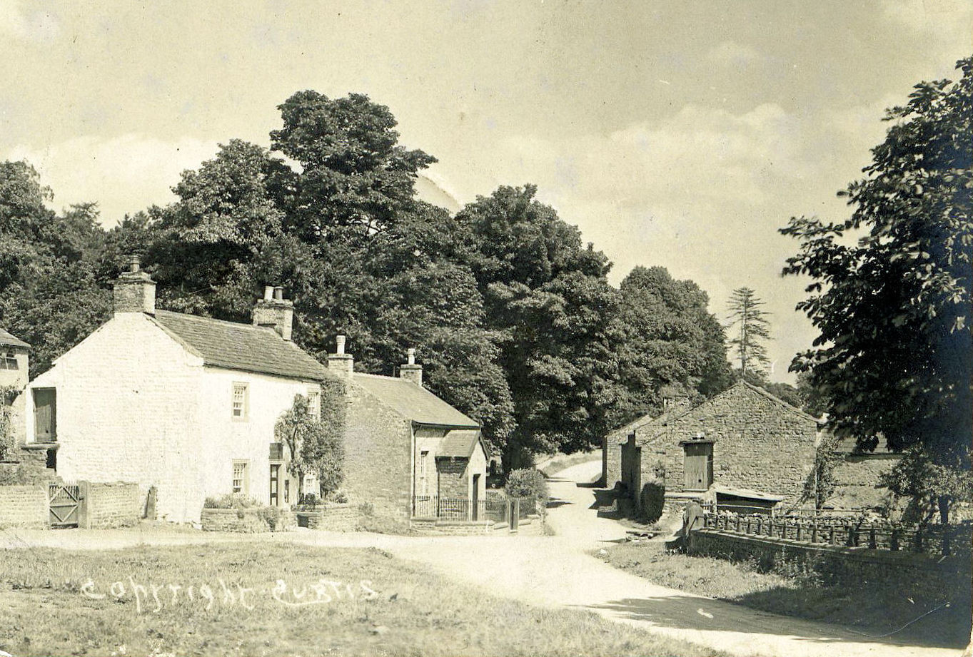 Thoralby, Shop, Post Office and Reading Room, c.1915.