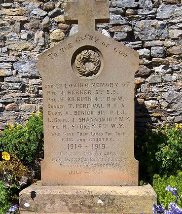 Carperby War Memorial