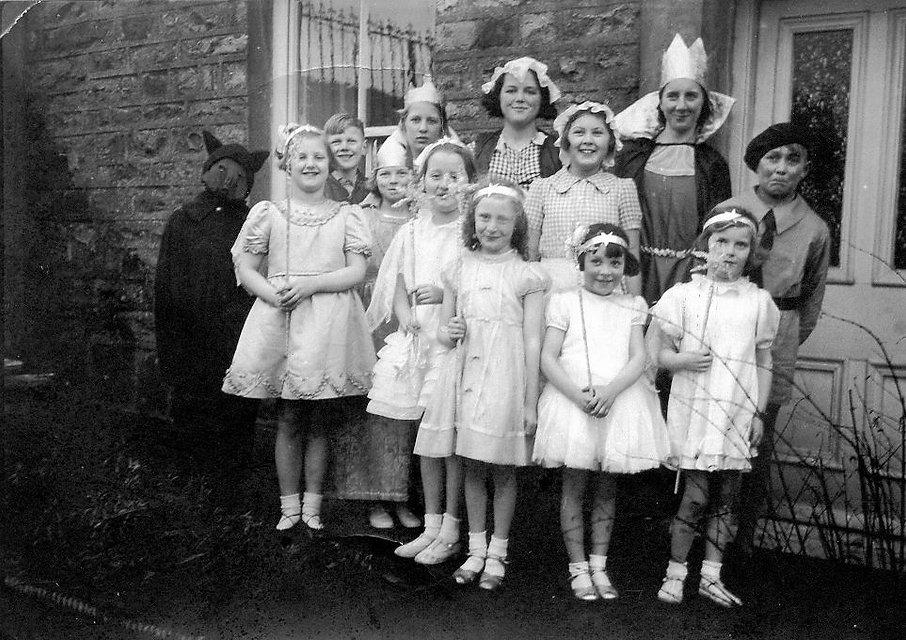 Cross Lanes School Christmas Pantomime, 'Dick Whittington', 1940s