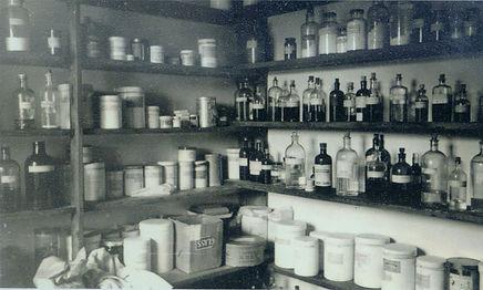 The Dispensary, Aysgarth Surgery, 1953