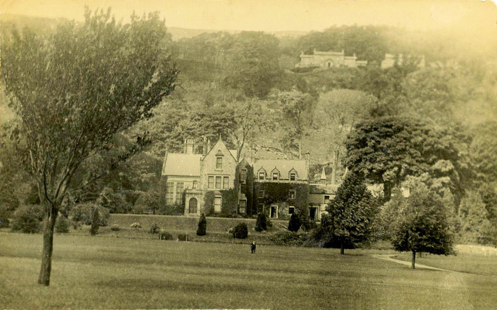 A good view of Scar Top Farm, courtesy of Rowly & Margaret Fawcett.