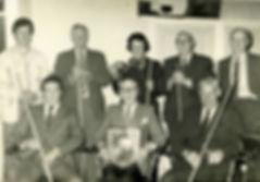 Thoralby & Newbiggin Billiard team 1970s