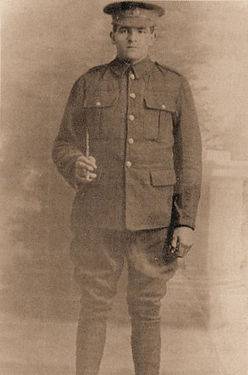 Trooper, Arthur Mawer in khaki, Walden