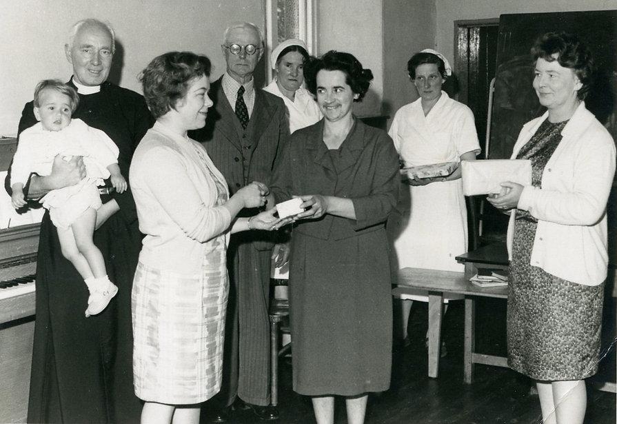 Presentation to Mrs Foster, 1964