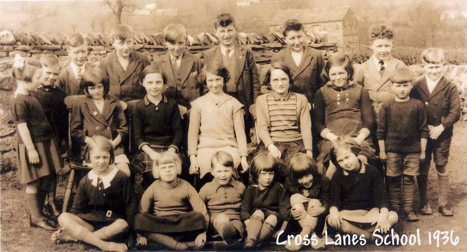 Cross Lanes pupils, 1936