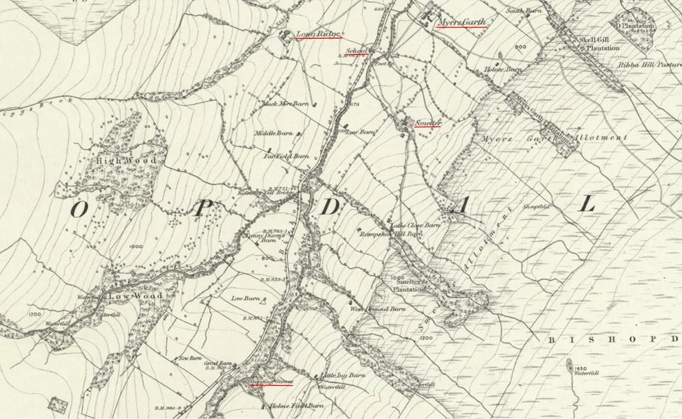 Myres Garth - Smelter OS 1896