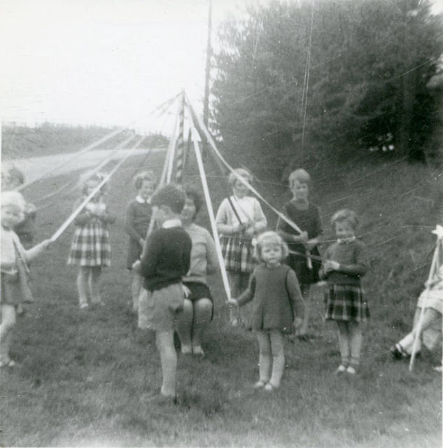 Maypole Dancing, Cross Lanes Sch., 1964